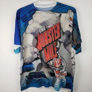 Fanatics Nascar Monster Mile Men's Shirt Sz 2XL
